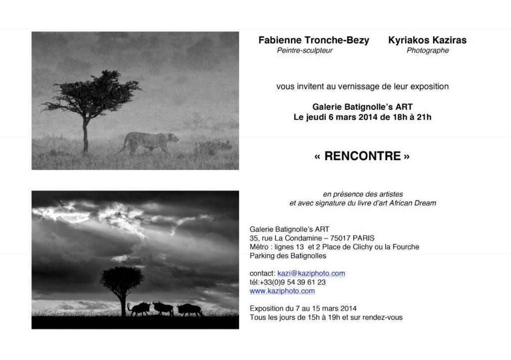 Kyriakos Kaziras expose les photos de son livre African Dream à la galerie Batignolle's ART
