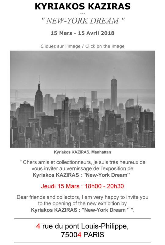 Invitation-Exposition-Kyriakos-Kaziras-New-York-Dream